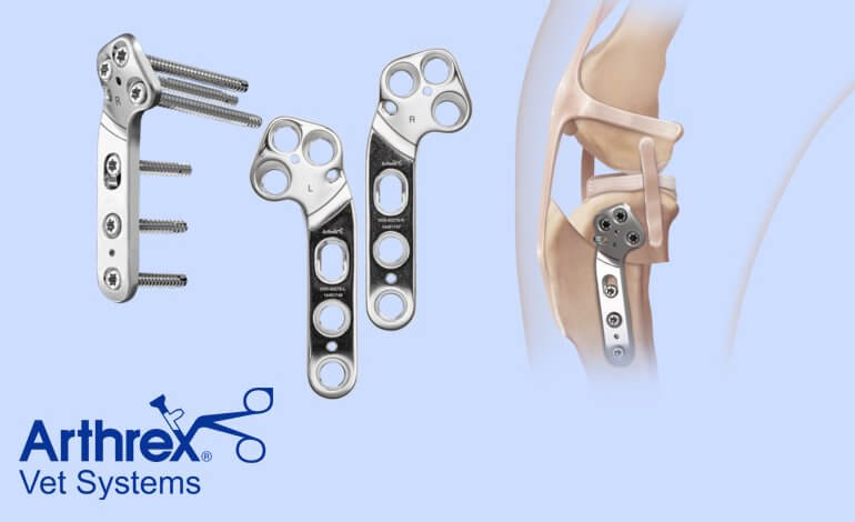 New Innovative TPLO Plate from Arthrex